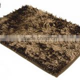 Shiny chenille carpet rugs living room carpet mat