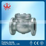 flapper type check valve