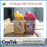 Challenger sk4 solvent ink 1L or 5L packing from Guangzhou supplier