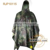 Coyote Tan Military Rain Poncho/Survival Shelter Tactical Camo EDC Army USMC