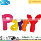 Colorful PARTY Airblown Inflatable Party Decoration