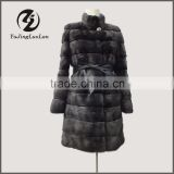 Luxury Winter Woman High Quality Winter mink fur coat poncho