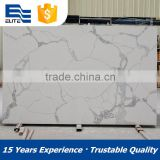 wholesale white calacatta quartz stone slabs