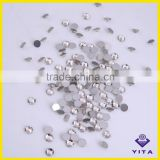 Sample free non hot fix crystal strass manufacturer flatback clear rhinestone for DIY nail art decoration