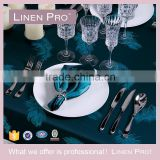 Linen Pro Dark Green 5 Star Hotel Banquet Table Cloth