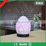 Wholesale fragrance LED lamps air freshener vaporizer ceramic humidifier