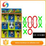 OEM Promotional toys Plastic Kids Jiugong Chess Set XO game toys