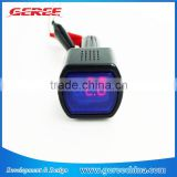 LED 12V /24V LED display Digital Mini Car Voltmeter Voltage Meter