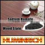Huminrich Sodium Humate Black Shiny Flake Cost Effective Black Wood Stain