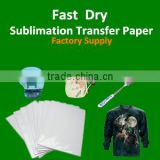 "Dye Sublimation Heat Transfer Paper pk 100 Sheets 8.5""x11"" For Epson Inkjet Printer"