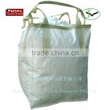 100% PP FIBC big bag loop in loop ton bag for wheat etc with low price facotry in shandong