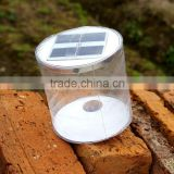 Solar Rechargeable Inflatable Lantern Light Portable and Foldable Outdoor Garden Waterproof Camping Light
