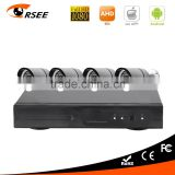 New product 4ch DVR kit with 1080P AHD cameras home security system