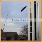3-10M Fiberglass Telescopic Flag Pole for Scaring bird kite, Banners, Beach flags, Windsocks