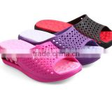 ladies fashion new design two color EVA slipper shoes