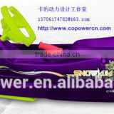 Copower SnowKuki snow sledge sled snow scooter snowscooter snow tube snow sled with brake(Direct factory)