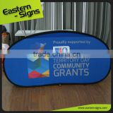 Vivid High Impact Economic Pvc a frame pop up banner pop up tent Business Popup A Frame Banner