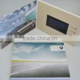 hot promotional advertising video brochure video book video booklet for bmw,audi,porsche
