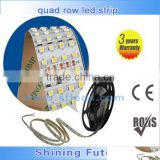 quad row led strip dimmeable and RGB