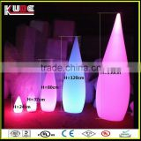 different size water drop light/decorative led floor lamp with rechargeable battery operated