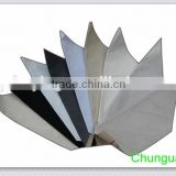Fabric with adhesive for shoes interlining / raw material for making shoes & handbags