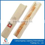 self adhesive seal paper bags for baguette french bread food packing bags