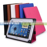 Vigo Universal Book Style Cover Case with Built-in Stand [Accord Series] For Ausus Vivo Tab Smart ME400 Tablet