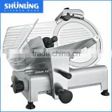 12 inch 300mm CE commercial/ industrial semi-automatic electric stainless steel frozen meat slicer