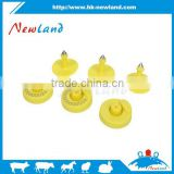134.2 khz rfid button ear tag wholesale for cattle use with or without number printing