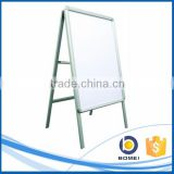 Folding aluminum A stand, customzied sign stand, A0 A1 A2 pavement sign board
