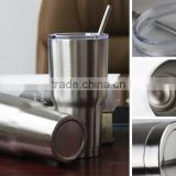 LFGB FAD factory wholesale double wall coffee tumbler, 30 oz stainless steel tumbler, stainless steel vacuum tumbler