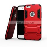For iPhone 6 plus protector Case 2 in1 Armor Defender Hybrid Heavy Duty Hard Cover Shockproof Case for iPhone6 plus