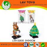 Promotion plastic christmas wind up toys for kids