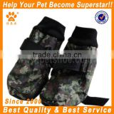 JML latest design strap protective neoprene waterproof dog shoes in green new balance pet shoes boots