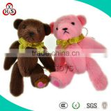 2015 Lovely Custom Mini Plush Wedding Bears Toys