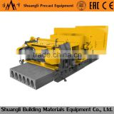 prestressed concrete, hollow core slab making machine for prefabricated prefab house plans