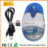Best hot selling cheap optical wireless aqua mouse with customeized floater Liquid mouse
