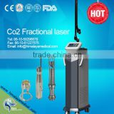Fractional Co2 Laser System Burnt Skin Regeneration Scar Vertical Removal Beauty Equipment With CE 1ms-5000ms Vascular Lesions Removal
