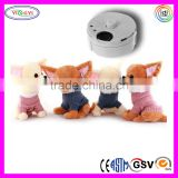 A050 Soft Repeatable Singing Chihuahua Dog Stuffed Electronic Plush Talking Dog Toys