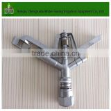 ZY-2 aluminum alloy nozzle sprinkler,360 watering sprinkler,farm irrigation sprinkler equipment