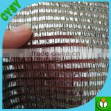 Aluminum shade net,sliver heat control carport shading net,sun cover woven knitted shade mesh cloth