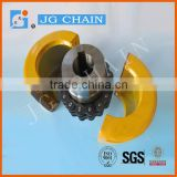 KC-4016 sprocket flexible roller chain coupling