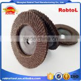 "5"" 125mm Flap Disc Zirconia Plastic Back Cover Aluminum Oxide Grinding Wheel Abrasive Flap Disk Flap Wheel Sanding"