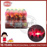 Colorful Plastic Microphone Ring Toy Candy with Light