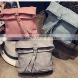 PU special design pure color women shoulder bags tote bags