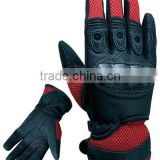 Motocross riding gloves