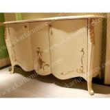 Ivary Lacquer Top Design Classic Sideboard,living decoration cabinet dining cupboard