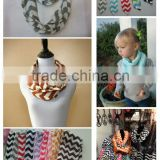 fashion baby winter neck warmer chevron scarves cute jersey accessories colorful scarves baby children infinity scarves