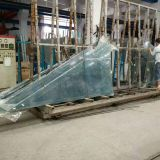 Vacuum bagging film with hight temperature for laminated glass