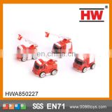 New Design Diecast toy Friction car Fire Fighting Truck alloy toy diecast model car